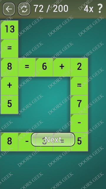 Math Games [Beginner] Level 72 answers, cheats, solution, walkthrough for android