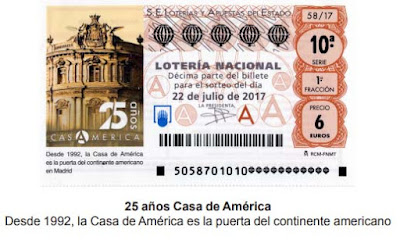 décimos de lotería nacional del sábado 22 de julio de 2017