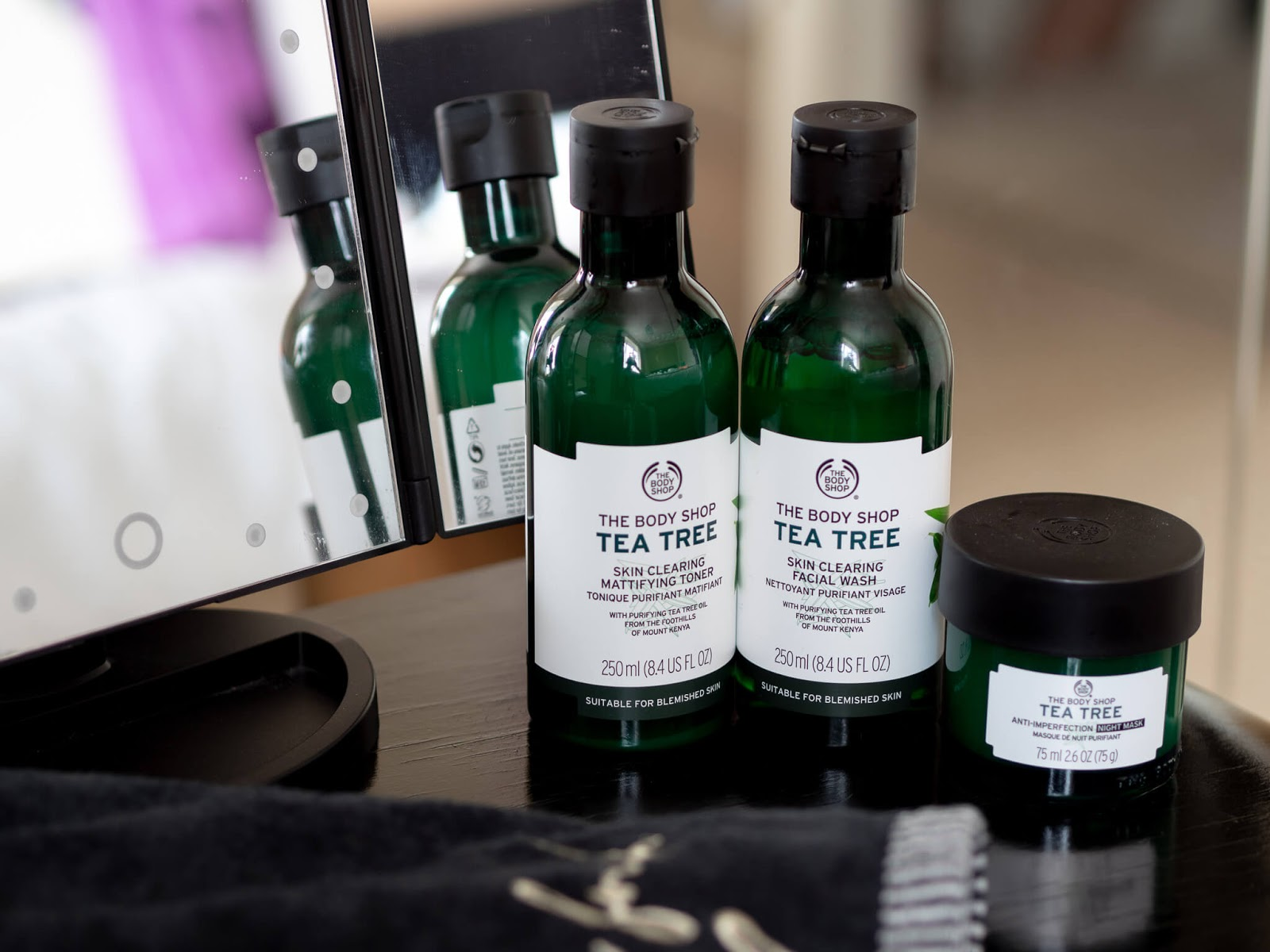 The Body Shop Tea Tree products reviewed