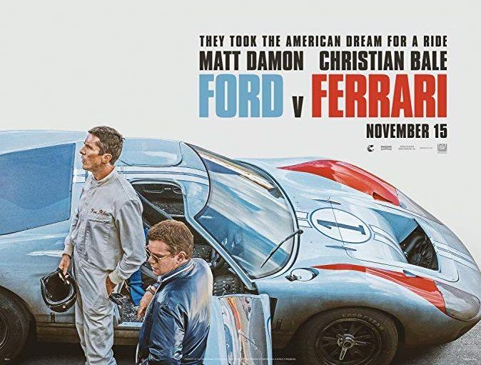 فيلم فورد و فيراري كريستيان بيل و مات ديمون