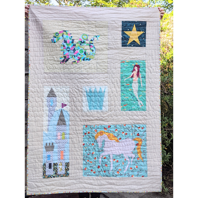 foundation paper pieced fairytale magic quilt