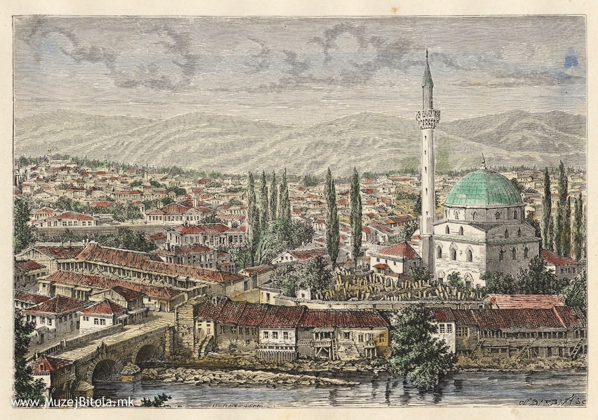 Bitola Old Postcards Photo Gallery Bitola Travel Guide
