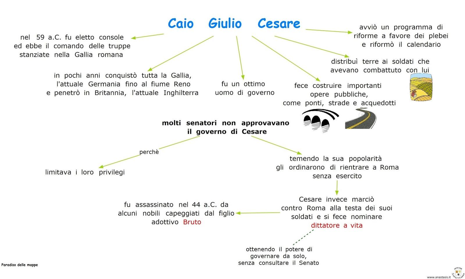Ben noto Paradiso delle mappe: Roma: Caio Giulio Cesare MW23
