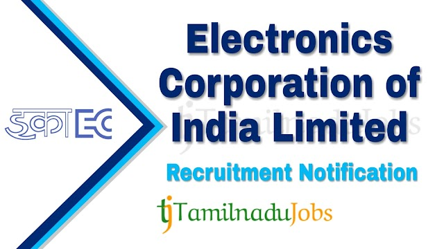 ECIL Recruitment notification of 2019 - for Graduate Engineer Trainee - 64 post