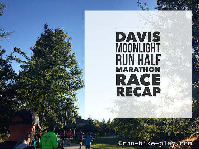 Davis Moonlight Run Half Marathon Race Recap