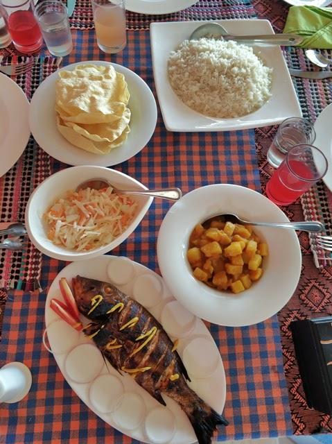 Almuerzo maldiviano