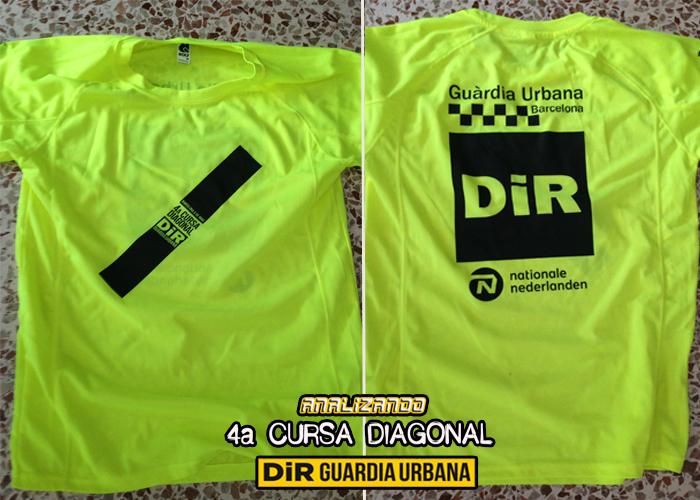 Analizando 4ª Cursa DIR Guàrdia Urbana - Camiseta