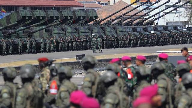 Kekuatan Militer RI Dinilai Teratas di Asia Tenggara, tapi Anggaran Kecil