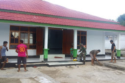 Sinergitas TNI, Polri dan Masyarakat Guna Ciptakan Jumat Bersih di Kisar