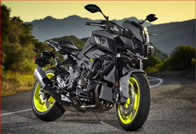 Yamaha FZ-10 - Motor Terbaru Dunia 2017