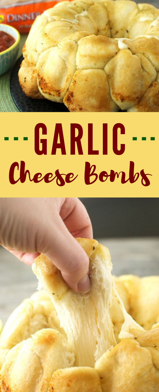 GARLIC CHEESE BOMBS #Meal #Dinner