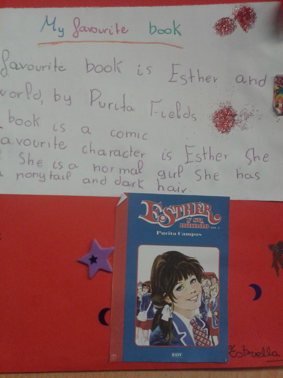 The English Class Blog Writing About My Favourite Book