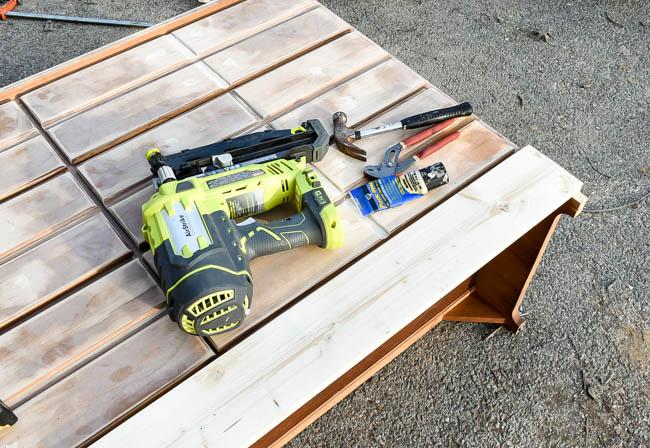 Building new dresser base
