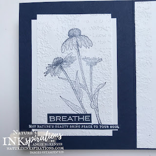 By Angie McKenzie for Stamping INKspirations Blog Hop; Click READ or VISIT to go to my blog for details! Featuring the Nature's Harvest Bundle, Very Versailles Stamp Set and Reflected in Nature Stamp Set by Stampin' Up!® to create some cards using different fonts; #occasioncards #stampinginkspirationsbloghop #naturesinkspirations #veryversailles #naturesharvest #reflectedinnature  #coneflowers #bakerstwine #mixedmedia #readingisfontsamental #handmadecards #prettyenvelopes  #simplestamping