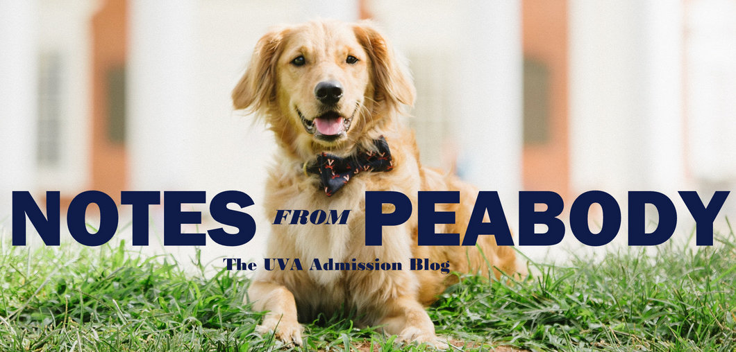Notes from Peabody: The UVA Application Process: 2019-2020
