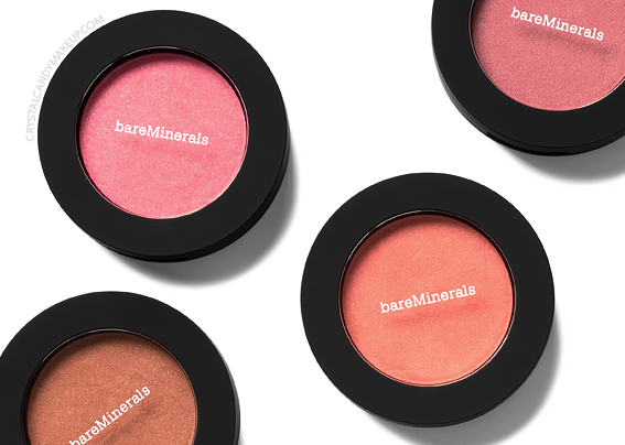 Fards à joues Bounce Blur de bareMinerals Avis Revue Swatches