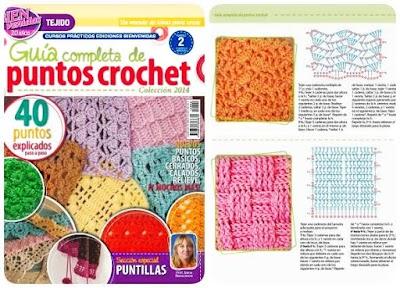 Crochet guía de puntos revista núm-2