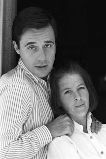 Peter Bogdanovich and Polly Platt, circa 1968, photo by Bruce McBroom via mptvimages