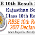 RBSE 10th Result 2017 – Rajasthan 10th Class Results 2017
