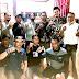 H.Budianto,SH Ketua Fraksi Partai Demokrat DPRD Karawang Jenguk Wartawan Sakit Di Jatisari Karawang