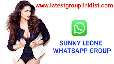 Join 200+ Sunny Leone Latest Whatsapp Group Link List 2020