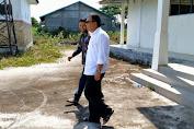 Said Mulyadi Tinjau Lokasi Pasar Rakyat