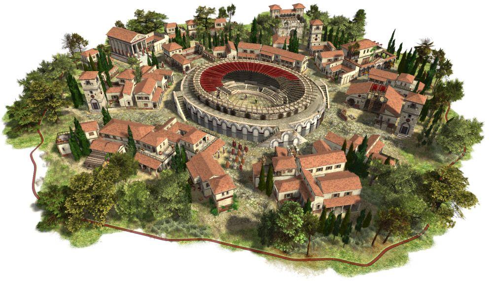 O Anfiteatro de Pompeia