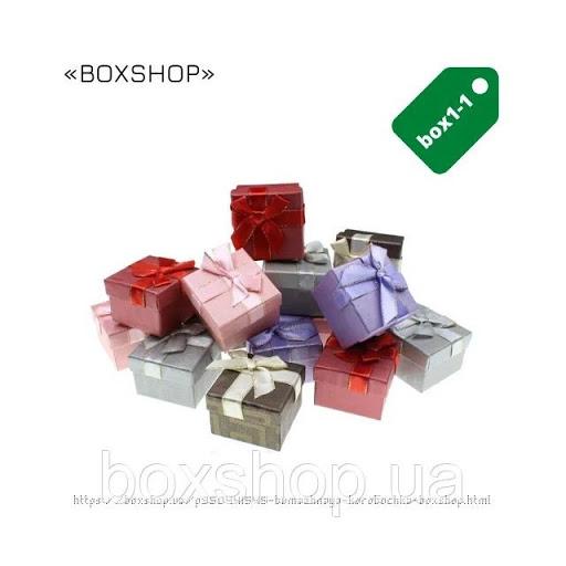 Бумажная коробочка BOXSHOP #box1-1