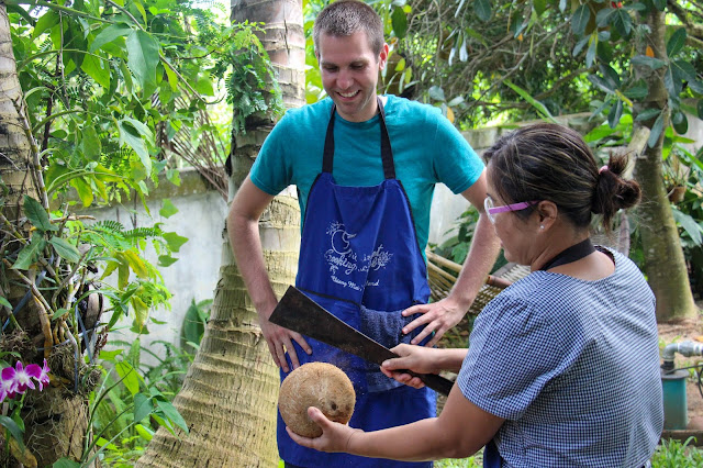 Thai Secret Cooking Class and Organic Garden Farm. June 22-2017