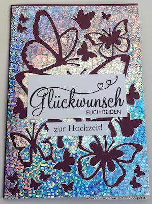 Glückwunschkarten mit Negativteilen und Resten Stampin' Up! www.eris-kreativwerkstatt.blogspot.de