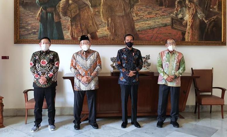 DPD RI dan Presiden Jokowi