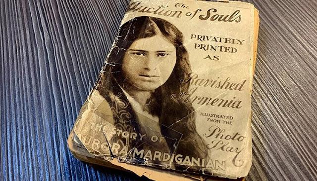 Donan libro raro firmado por Aurora Mardiganian