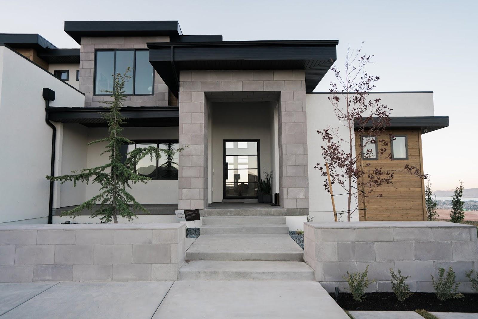 Industrial Front Door, Modern Front Door