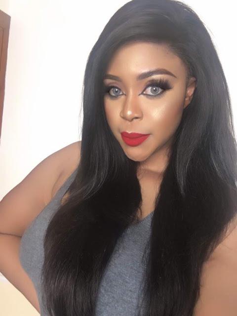 Nollywood actress, Amanda Ebeye launches her own hairline brand, Amanda Hair?