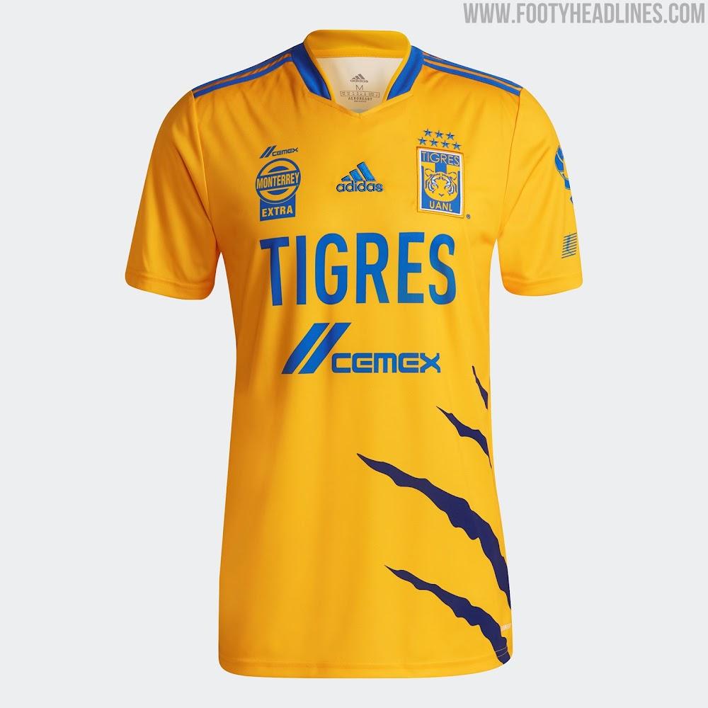 Tigres 21-22 Home & Away Kits Released - Footy Headlines