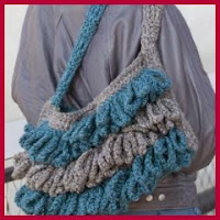 Bolso bicles crochet