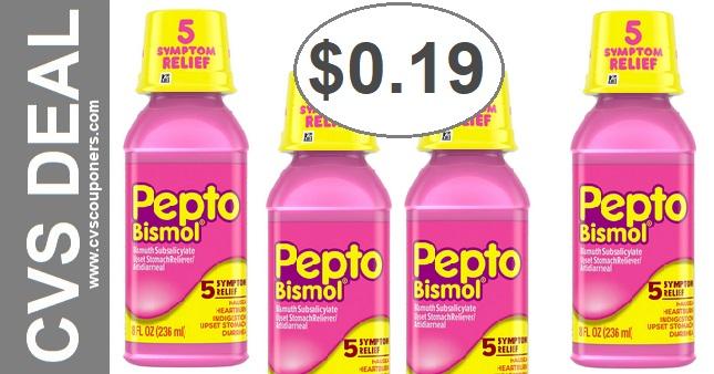 CVS Couponers Pepto Bismol Deal 5-31-6-6