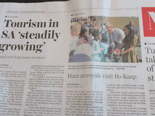 duke and duchess of sussex boosting tourism in Cape Town