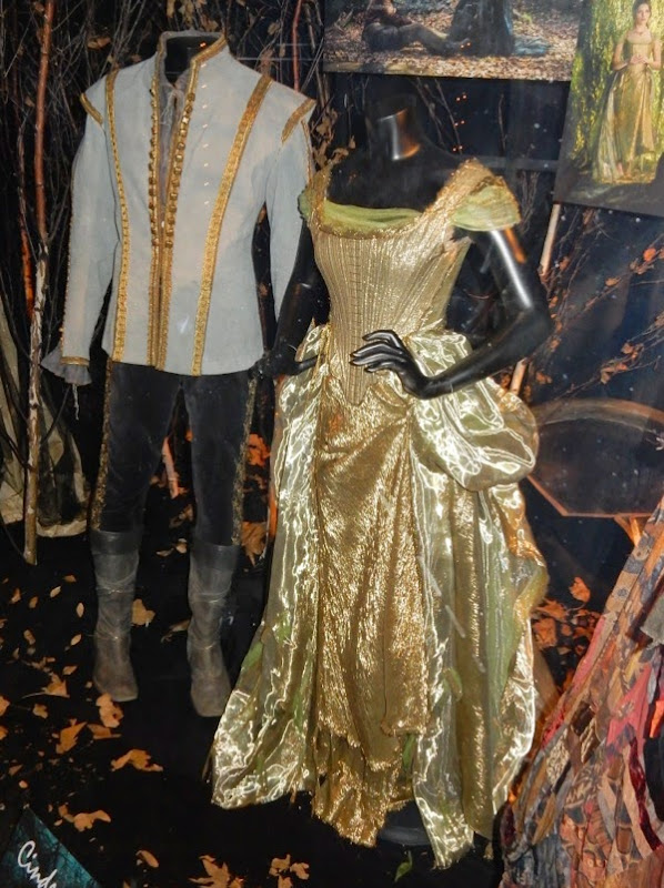 Anna Kendrick Cinderella golden gown Into the Woods