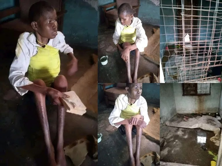 Husband locks up wife for 3 years because his girlfriend