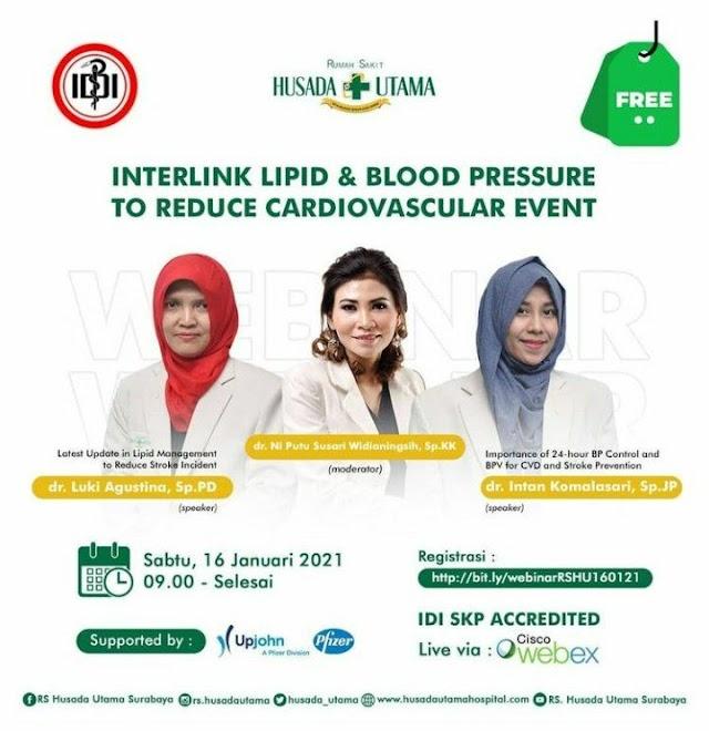 "Free SKP IDI ""Interlink Lipid & Blood Pressure to Reduce Cardiovascular Event"""