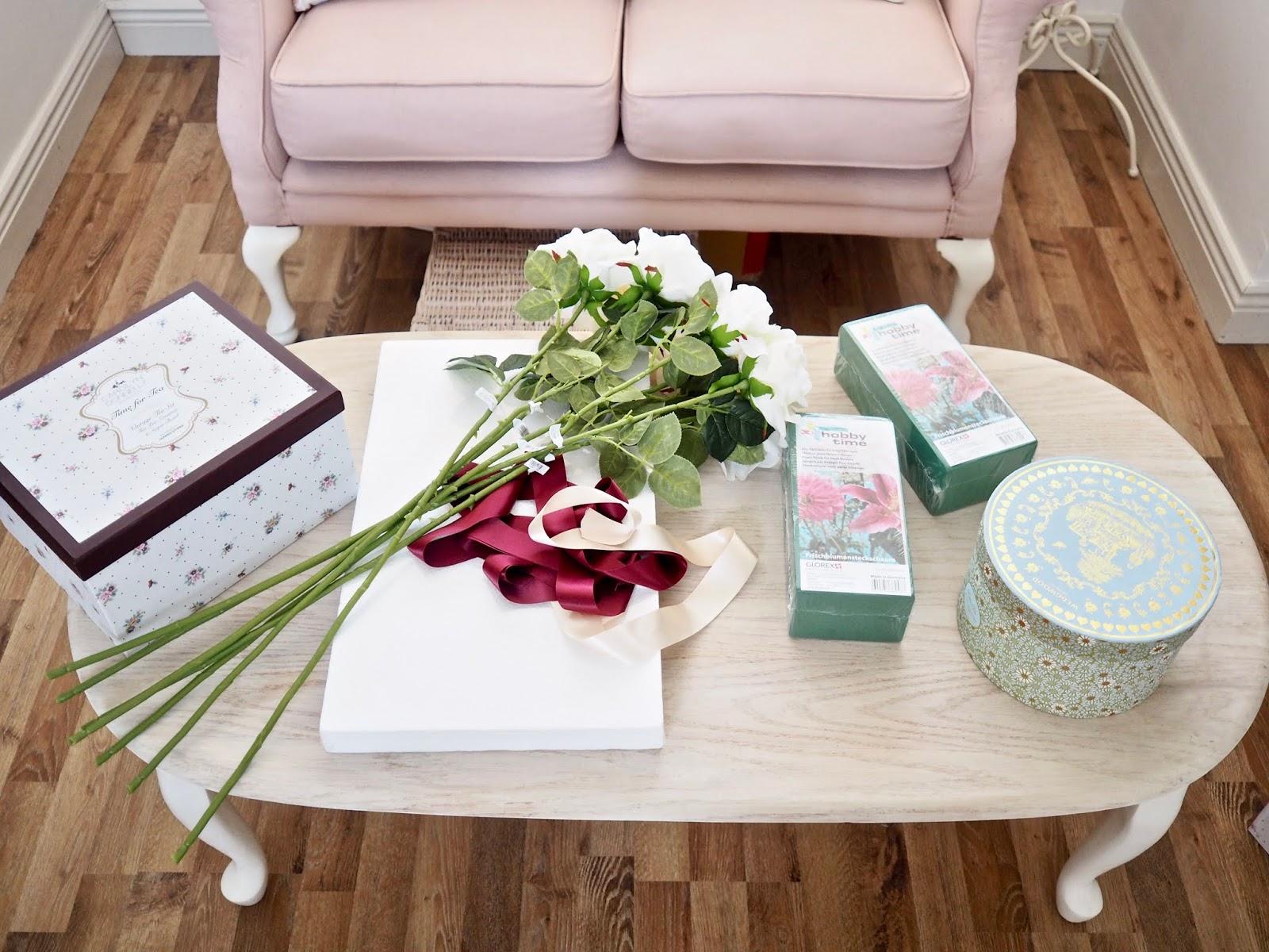 Diy Flower Bouquet Box Dainty Dress Diaries
