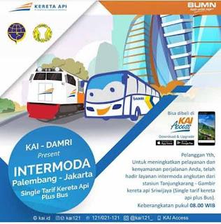Tiket Kereta Palembang Jakarta
