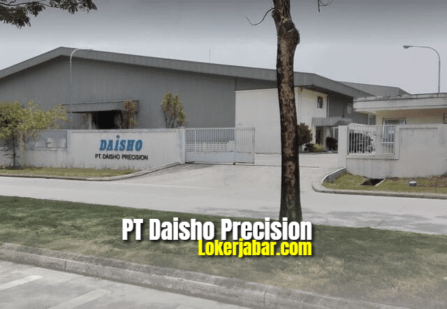Lowongan Kerja PT Daisho Precision