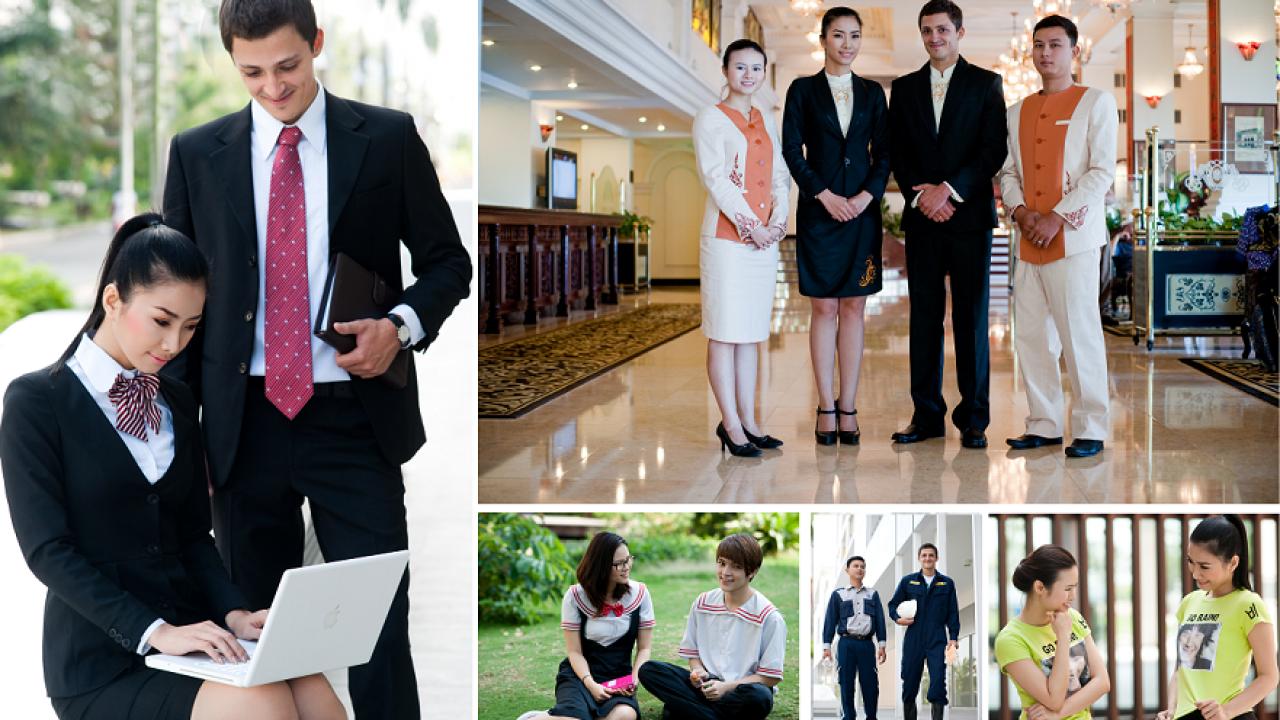 Các lý do bạn nên chọn may đồng phục nhân viên đẹp chất lượng cao