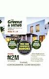 THE GREENS & VIEWS, ARAPAJA, AKALA EXPRESSWAY, IBADAN, OYO STATE ( LAND FOR SALE)