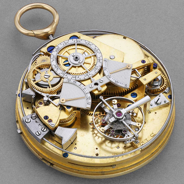 George Daniels' most complicated watch, the movement