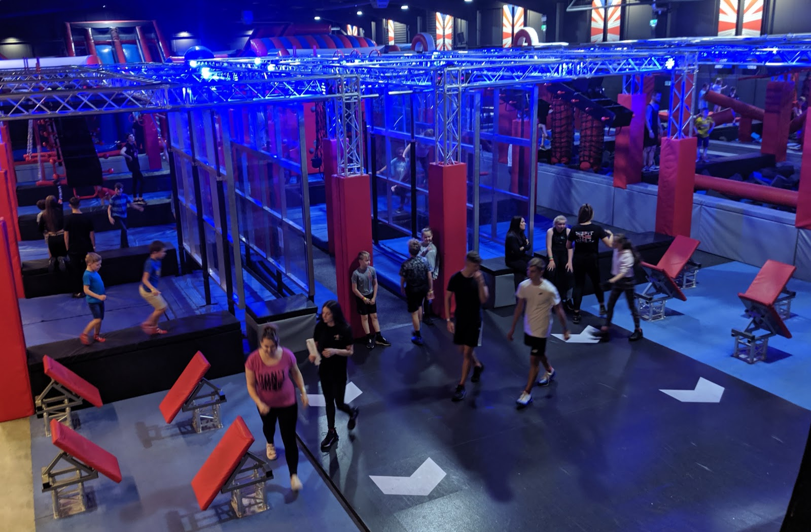 Ninja Warrior Adventure Park Wigan Review  - adventure park