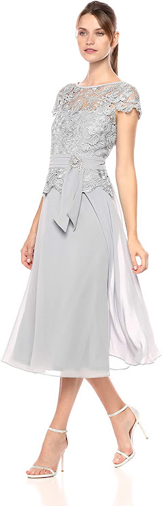 Best Silver Mother of The Groom Dresses