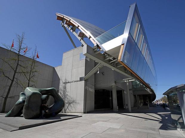 Arquinotas Galer De Arte Ontario Por Frank Gehry